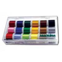 Coffret de fils à coudre 18 coloris Madeira