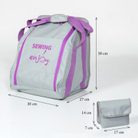 Sac de transport pour surjeteuse enjoy