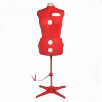 ACKERMANN Mannequin rouge taille S réglable 34-40 EN STOCK !