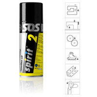 SPIRIT 2 - Huile minérale extra blanche spray 400 ml