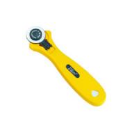 Cutter circulaire 28mm - Lame fine - Jaune