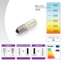AMPOULE LED E14 14 x 45 mm