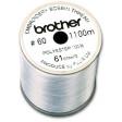 Bobine fil canette broderie épaisseur 60 - 1100m Blanc
