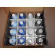 Coffret de 64 cônes de fils mousses Ackermann 100% polyester 1000 M