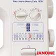 Janome Easy Jeans 1800 + LOT D'ACCESSOIRES | GARANTIE 10 ANS | En stock !