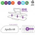 Presse à repasser vapeur Texi Apollo 68 EN STOCK !