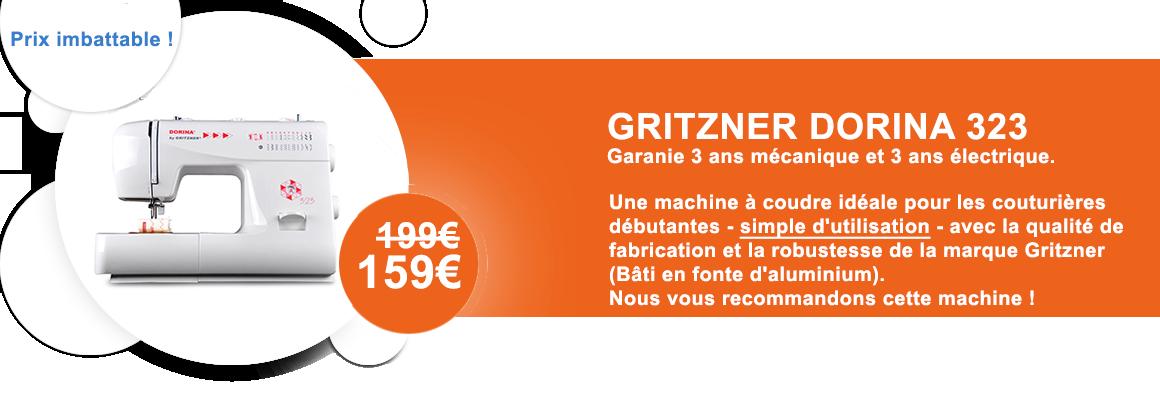 Machine à coudre Gritzner Dorina 323