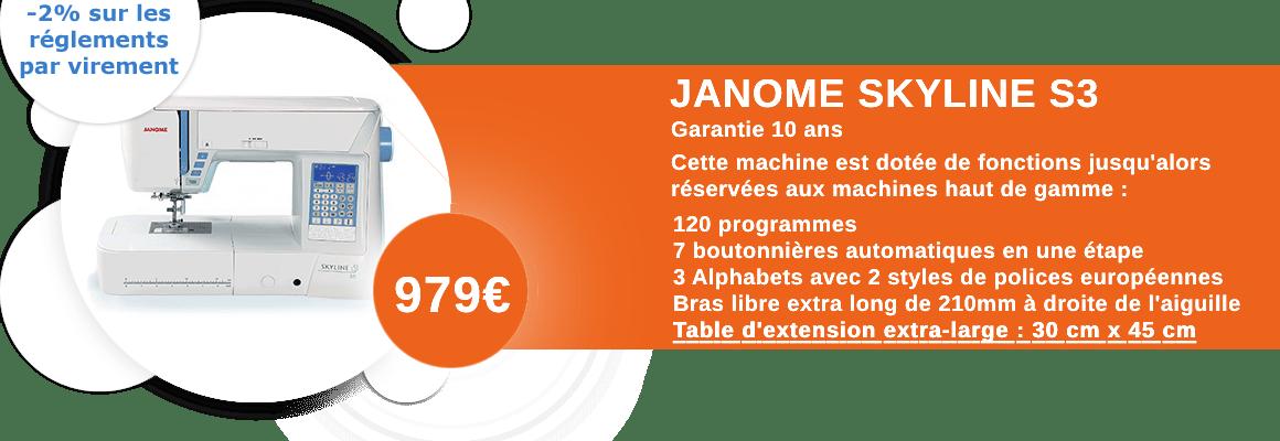 Janome Skyline S3