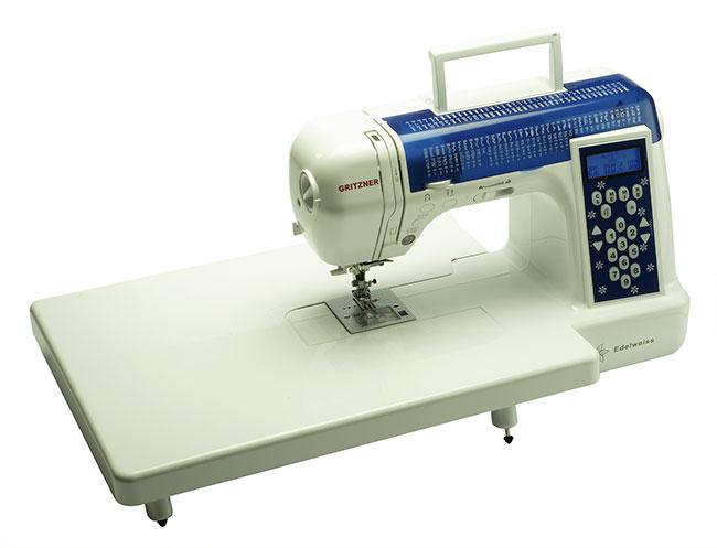Machine à coudre Edelweiss avec table d'extension