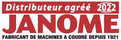 Distributeur agréé Janome 2020