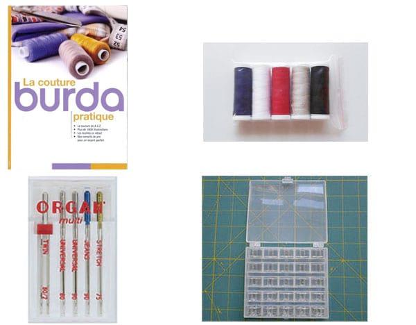 Cadeaux offerts pour l'achat d'une machine à coudre Elna Lotus 2