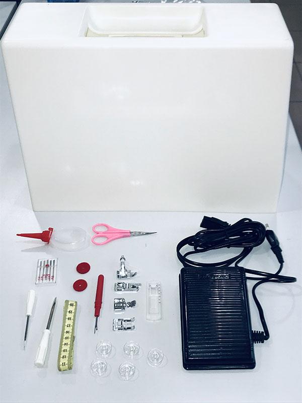 Accessoires inclus avec la machine à coudre Gritzner Prince