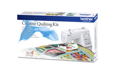 Kit quilting QKM2 Brother pour tous les travaux de patchwork / assemblage