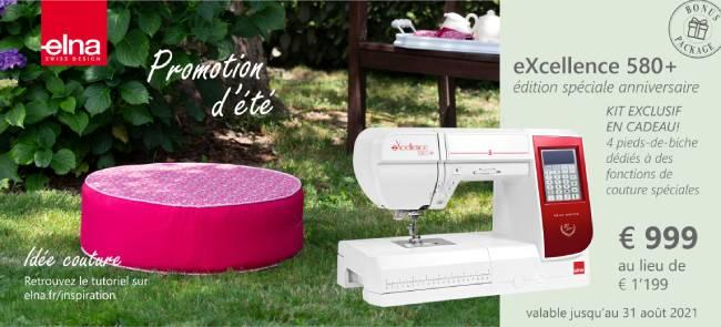 Promotion d'été elna 580+