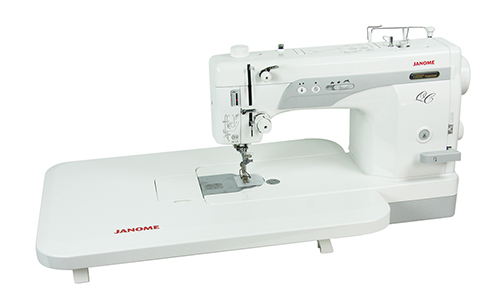 Janome 1600p avec table d'extension